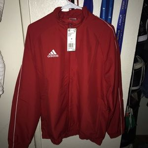 Addida's Jacket Power Red.